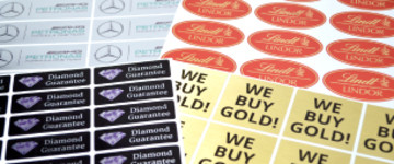 Metallic Stickers | www.stickersinternational.us